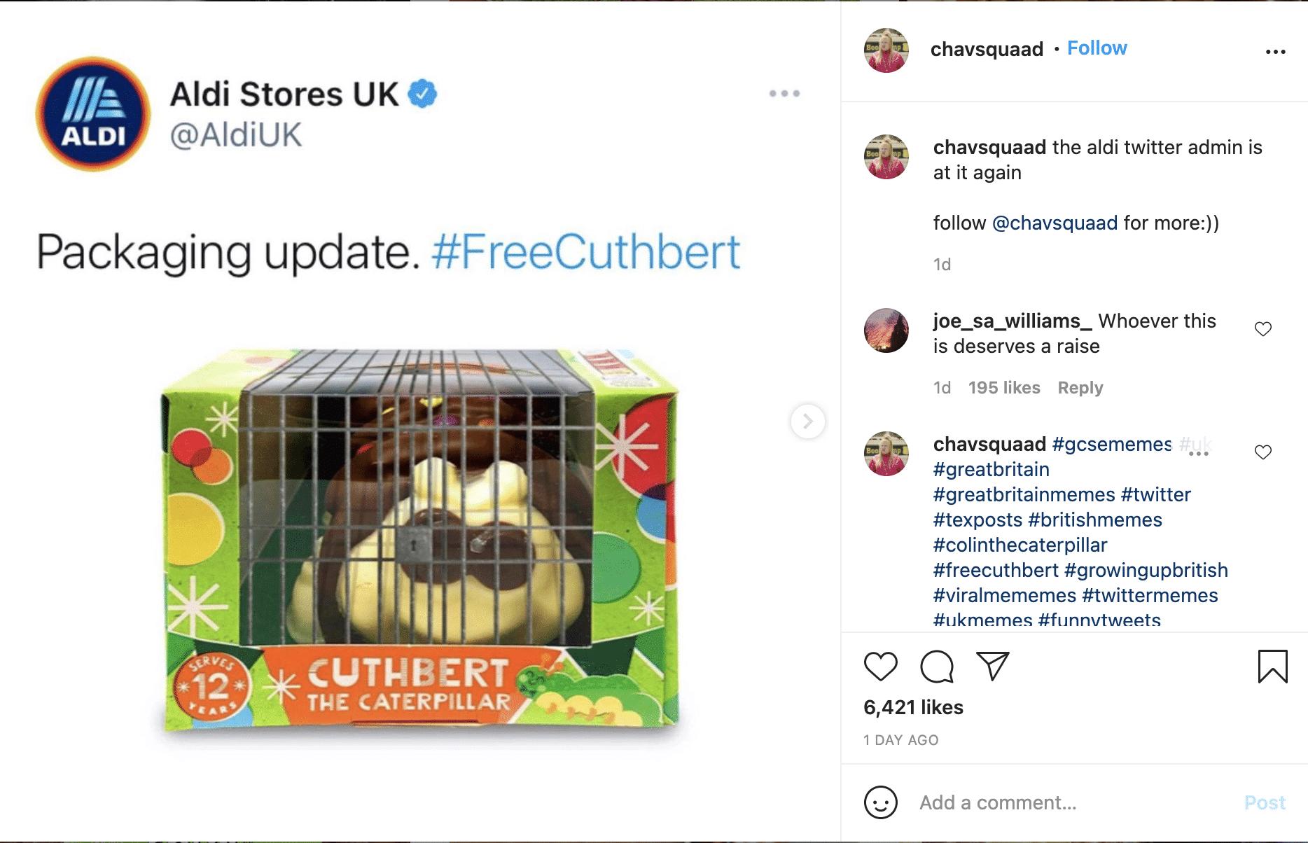 #free Cuthbert Jail Packaging